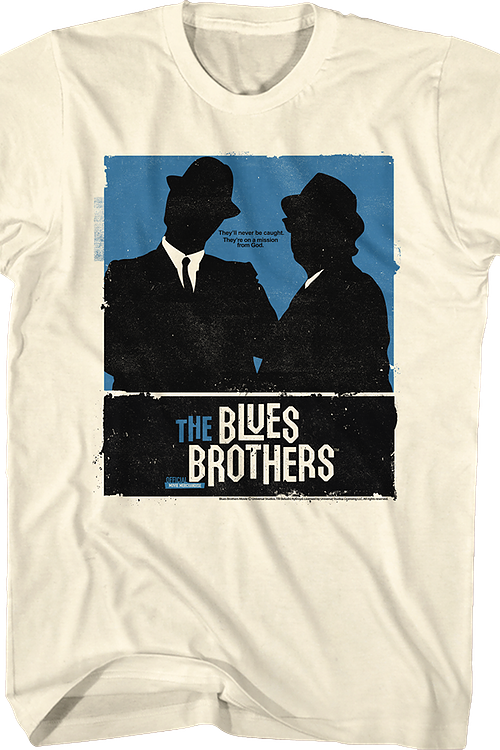 Silhouettes Blues Brothers T-Shirt