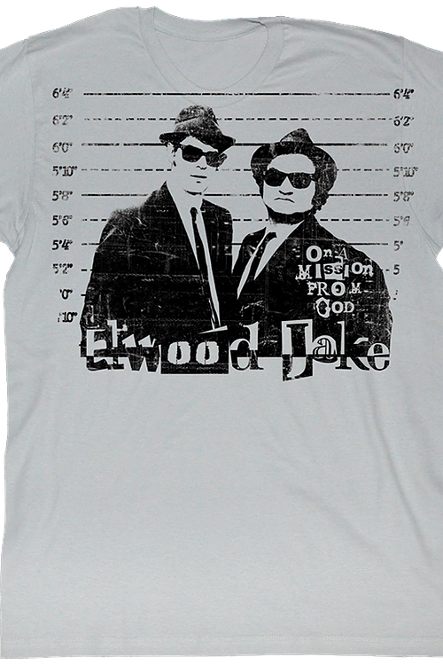 Line Up Blues Brothers T-Shirt