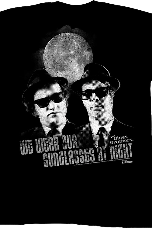 Sunglasses At Night Blues Brothers T-Shirt