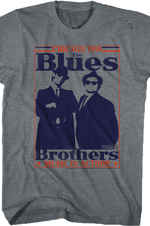 Music In Action Blues Brothers T-Shirt