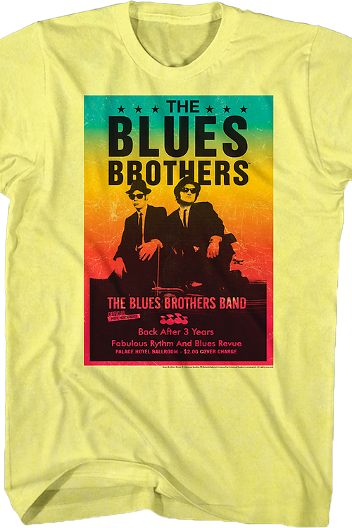 Concert Poster Blues Brothers T-Shirt