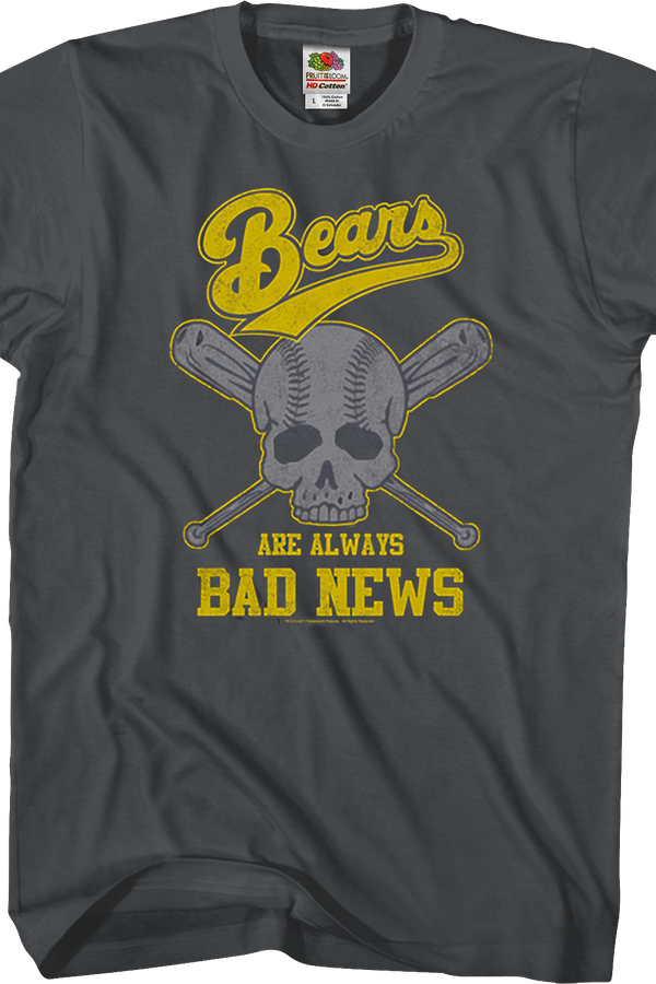 Skull Bad News Bears T-Shirt