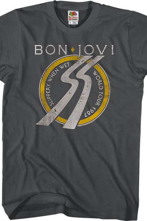 Slippery When Wet Bon Jovi T-Shirt