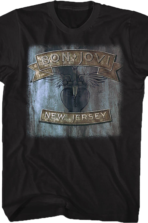 New Jersey Bon Jovi T-Shirt