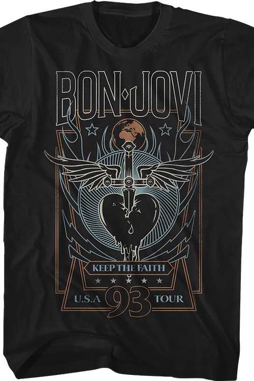 Keep The Faith Tour Bon Jovi T-Shirt