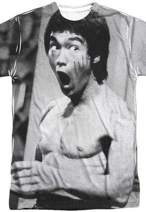 Black and White Bruce Lee T-Shirt