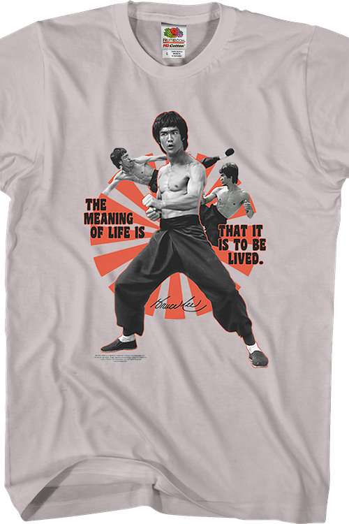 The Meaning Of Life Bruce Lee T-Shirt