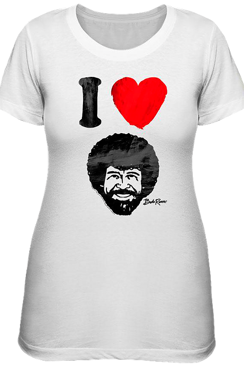 Junior I Love Bob Ross Shirt