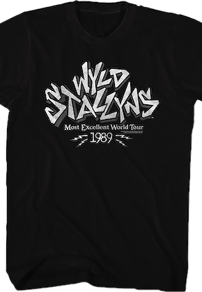 Wyld Stallyns Excellent Tour Shirt