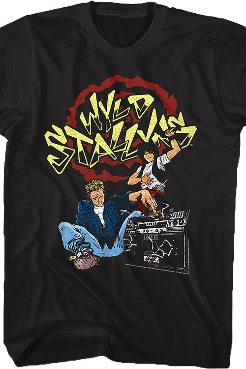 Animated Wyld Stallyns T-Shirt