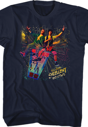 Galaxy Bill and Ted's Excellent Adventure T-Shirt