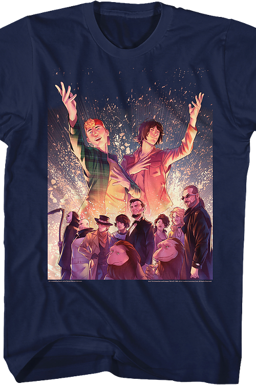 Fireworks Bill and Ted T-Shirt