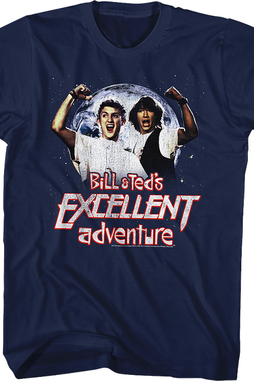 Distressed Bill and Ted's Excellent Adventure T-Shirt