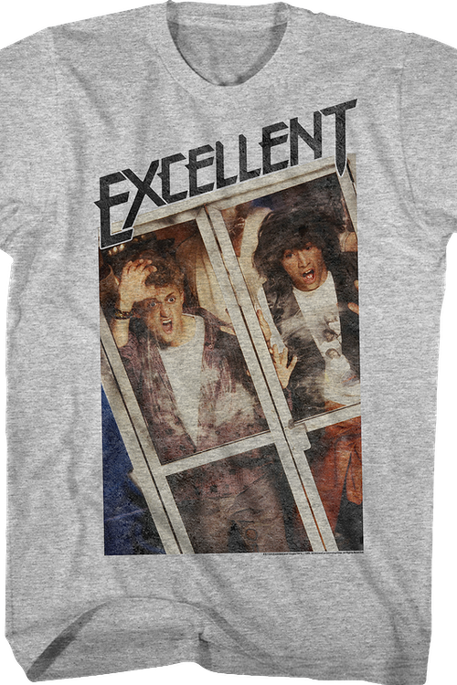 Distressed Excellent Bill and Ted T-Shirt