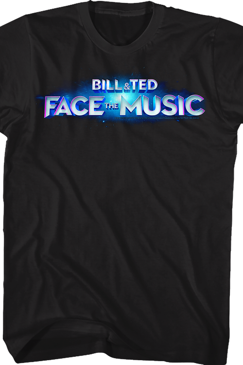 Movie Logo Bill and Ted Face the Music T-Shirt