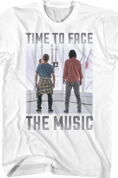 Bill and Ted Time to Face the Music T-Shirt