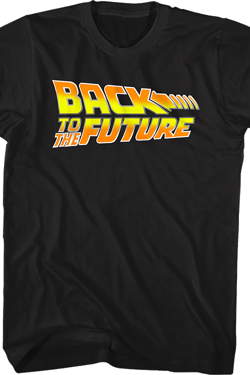 Movie Logo Back to the Future T-Shirt