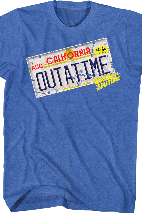 Outatime Back To The Future Shirt