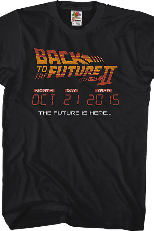 Back To The Future 10 21 2015 T-Shirt