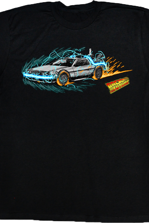 Time Machine With Style Back To The Future T-Shirt