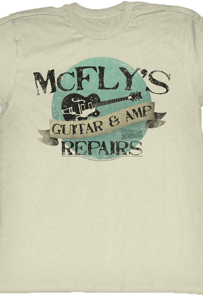 McFly's Guitar and Amp Repairs T-shirt - S to 5XL
