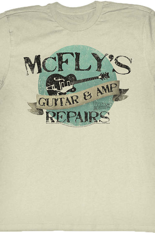 McFly's Repairs Back To The Future T-Shirt
