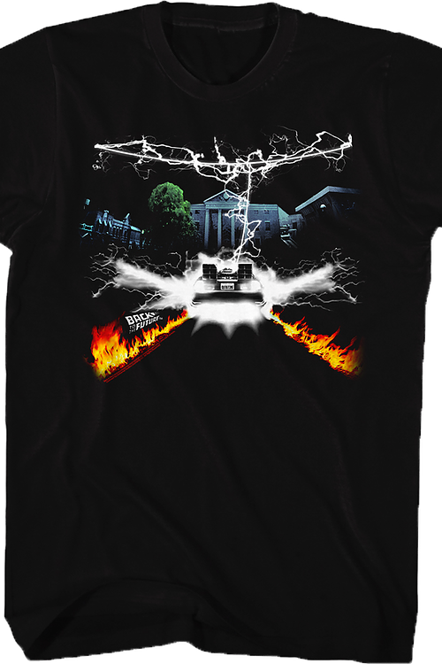 Lightning Bolt Back To The Future T-Shirt
