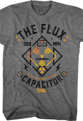 Flux Capacitor Back To The Future T-Shirt