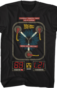 Flux Capacitor Back To The Future Shirt