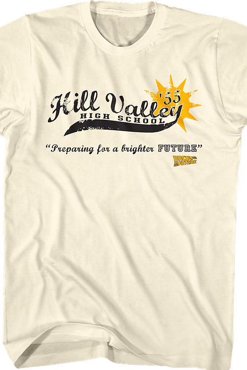 Hill Valley High School Back To The Future T-Shirt