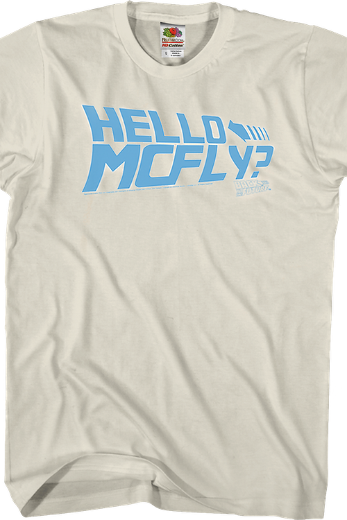 Hello McFly Back To The Future T-Shirt