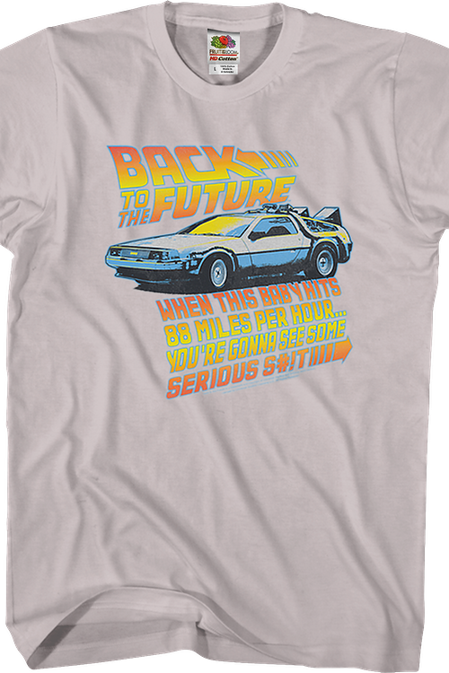 When This Baby Hits 88 Miles Per Hour Back To The Future T-Shirt