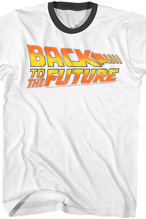 ad79e29f Back To The Future Ringer Shirt. Men's Ringer Shirt
