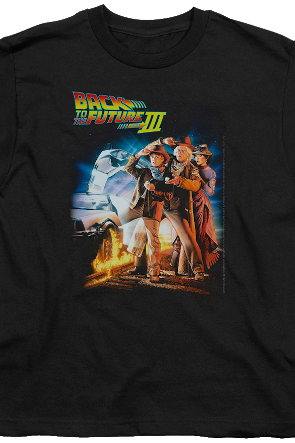 Kids Back To The Future Part III Shirt