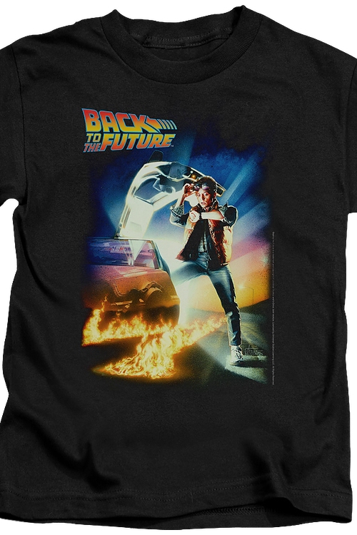 Kids Back To The Future Shirt