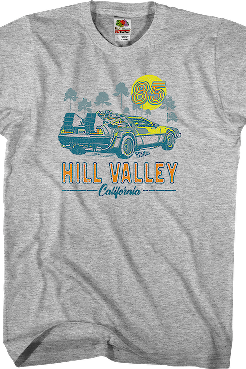 Hill Valley Back To The Future T-Shirt