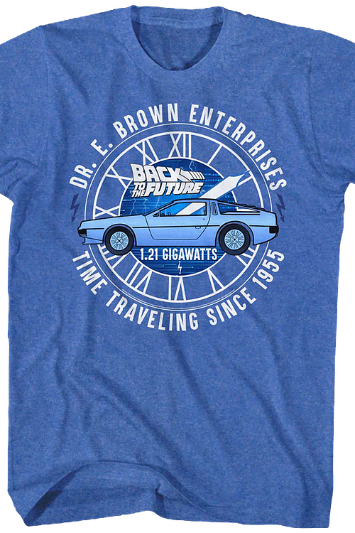Time Traveling Since 1955 Back To The Future T-Shirt