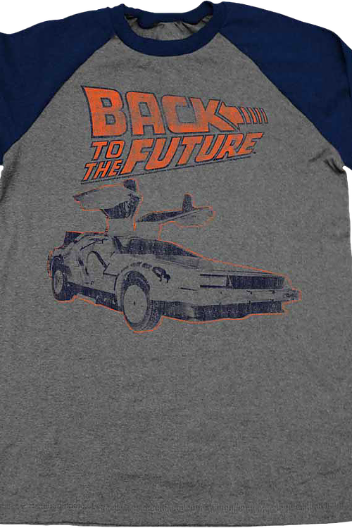 Back To The Future Raglan Baseball Shirt