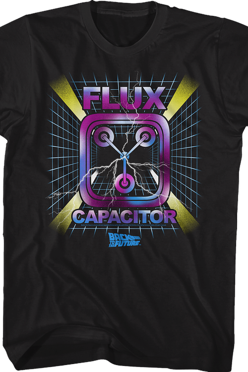 Flux Capacitor Graph Back To The Future T-Shirt