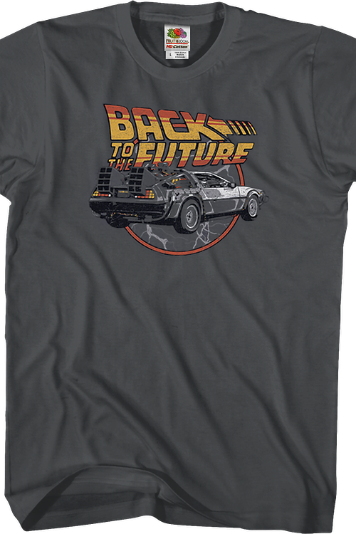 Lightning Bolts Back To The Future T-Shirt