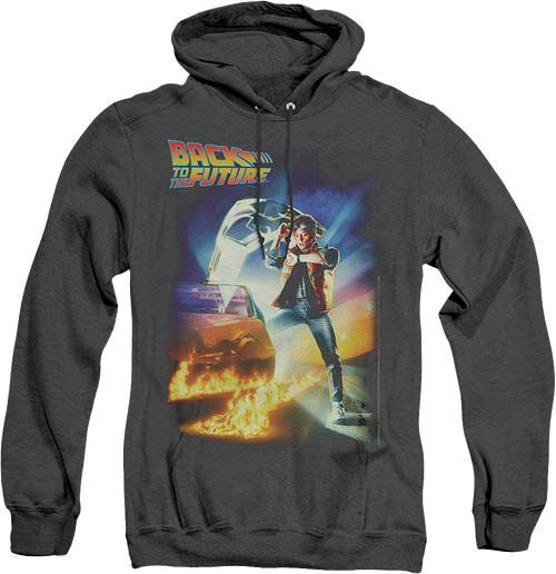 Movie Poster Back To The Future Heather Hoodie