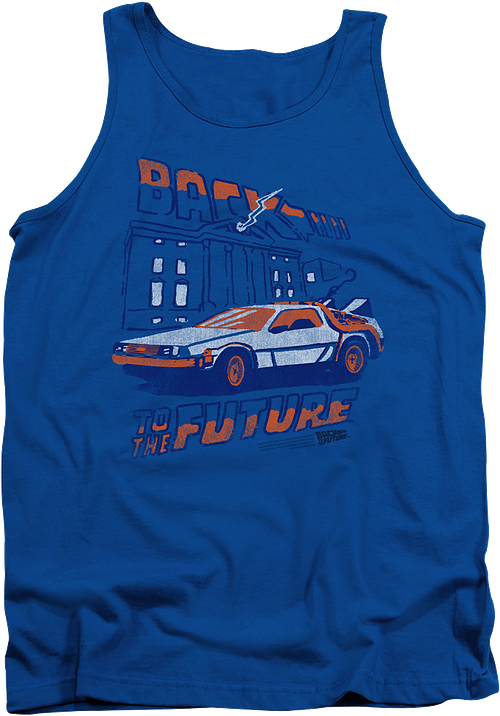 Clock Tower Back To The Future Tank Top