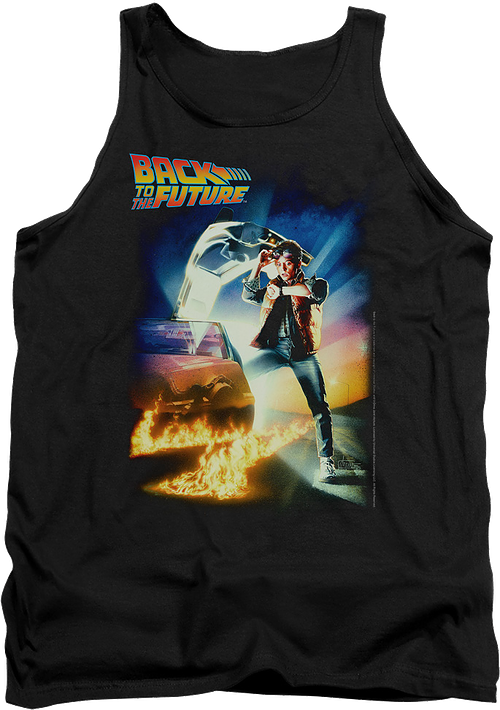 Movie Poster Back To The Future Tank Top