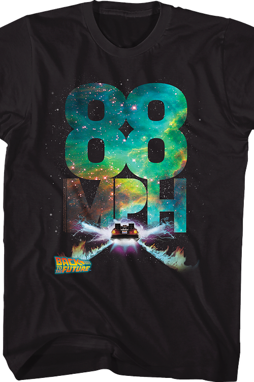 Galactic 88 Miles Per Hour Back To The Future T-Shirt