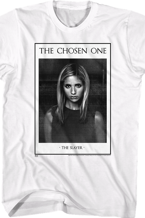 The Chosen One Buffy The Vampire Slayer T-Shirt