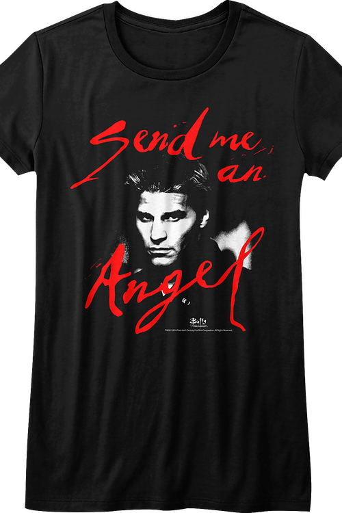 Junior Send Me An Angel Buffy The Vampire Slayer Shirt