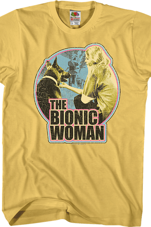 Max and Bionic Woman T-Shirt