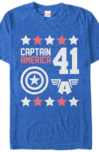 Captain America 41 T-Shirt