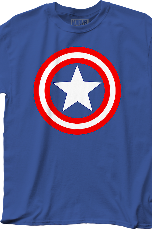 Vibranium Shield Captain America T-Shirt