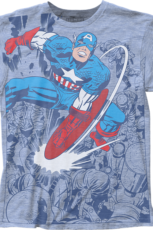 Shield Strike Captain America T-Shirt